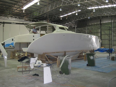 Fusion 40 in shed